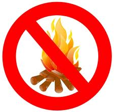 Campfires Are Not Allowed