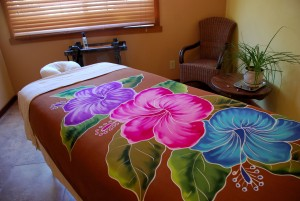 Massage Room - inside the phoenix (Photo by Justin Spyres)